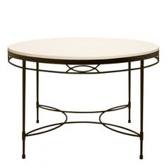 AMALFI STONE TOP COCKTAIL TABLE ROUND 107