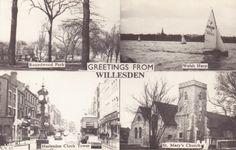 Old Willesden Postcard
