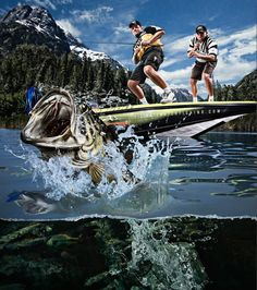 Photography inspiration: Dave Hill fishing