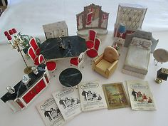 Vintage Petite Princess Dollhouse Furniture by Ideal 1964