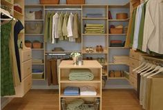 Closet Organizers Inspiration
