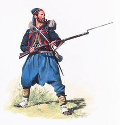 76th Pennsylvania Volunteers (Keystone Zouaves), ca. 1862 - Don Troiani