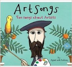 Art Songs: Ten Songs About Artists: Agnes Herrmann, Aubrey Beardsley Programme D'art, Art Books For Kids, Artists For Kids, Classe D'art, Frida Art, Art Lessons Elementary, Elementary Art Education, Elementary Art Rooms, Art Lessons For Kids