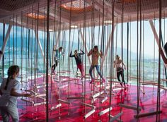 10 playgrounds espetaculares pelo mundo