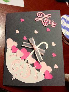 A bridal shower card