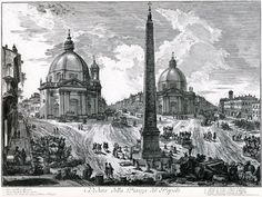 Giovanni Piranesi's (1720-1778) amazing surreal & poetic views and of Rome's imagined antiquities:
