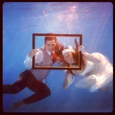 Sesión fotográfica después de la boda próximamente en www.studioboda.com. #Boda #Reportaje #Valencia #España #Underwater #wedding #photography