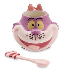 badc073bb23 Cheshire Cat Mug and Spoon Set  14.95  lt 3 Stir crazy The shape-shifting