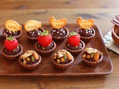 バレンタインに☆みんなで嬉しい簡単生チョコタルトとラッピングなど - めいの部屋ブログ