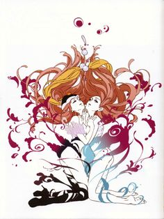 from The Art of Mawaru Penguindrum
