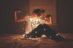tangled up in lights