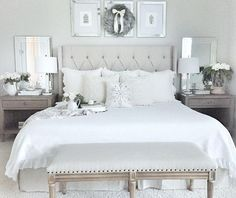 Neutral Bedroom Color Scheme. Neutral Bedroom Color Scheme Ideas. Neutral Bedroom Color Scheme. Neutral Bedroom Color Scheme. Bedroom paint color is Sherwin Williams Repose Gray. #NeutralBedroomColorScheme #NeutralColorScheme #BedroomColorScheme #Bedroom #ColorScheme #Bedroompaintcolor #SherwinWilliamsReposeGray MyTexasHouse