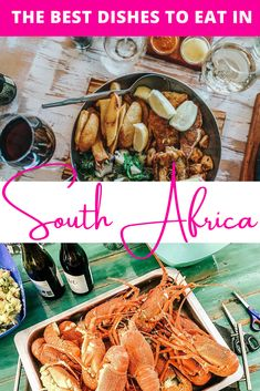 These traditional South African dishes are a must when you visit the country. The South African cuisine, influenced by many different cultures, is so flavorsome. | South African food African style | Side dishes for a braai South Africa | South African dishes comfort food | South African dishes meat | South African dishes families | what to eat in South Africa | Food in South Africa | South African food traditional | South African food Afrikaans | Cape Town South Africa food | braai side… South African Dishes, South African Recipes, Ethnic Recipes, Best Dishes, Side Dishes, A Food, Good Food, Cape Town South Africa, African Style