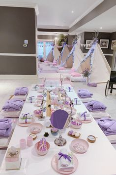 Spa & Sleepover Party Rentals - Products Provided — Dream & Party