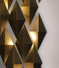 Daria Sconce at Lusive.com Wall Fixtures, Wall Sconces, Light Fixtures, Wall Lamps, Interior Lighting, Lighting Design, Deco Cafe, Ideas Hogar, Lamp Design