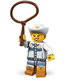 LEGO 8833-4: Cowgirl | Brickset: LEGO set guide and database