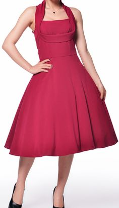 1950s Shelf Bust Dress by Amber Middaugh 2015 Standard Size$49.95 Plus Size $55.95