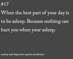 Except your nightmares