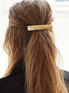 Barrette Hairstyles Simple Home  Bario Neal  Barrette Hair Style And Hair Makeup