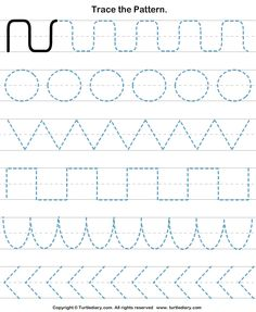 pre k handwriting worksheets