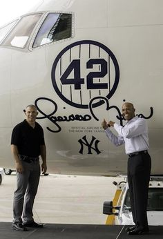#Mariano Rivera gets a sweet retirement gift from Delta Air Lines: a jet dedicated to him. #Yankees #baseball