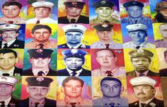 Colorized photos of 343 fallen firefighters on 9/11 by artist Peter Max. | 50 Powerful Images Of Humanity And Solidarity In The Years Since 9/11