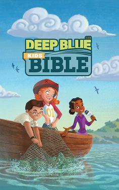 •CEB Deep Blue Kids' Bible, Bright Sky