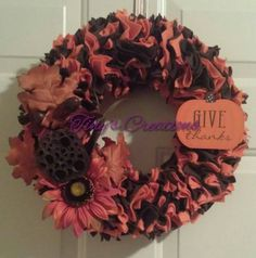 Check out this item in my Etsy shop https://www.etsy.com/listing/459557182/fall-wreath
