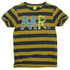 Scotch and Soda - T-shirt MR. geel