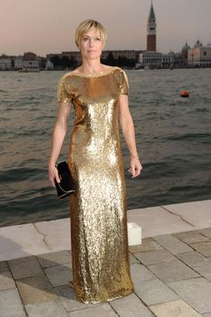 Robin Wright in Gucci
