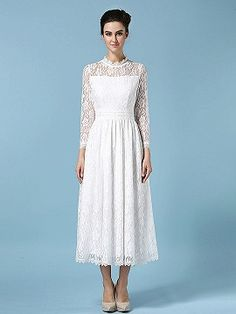 Shop White Mesh Lace Ruched Zip Back High Neck Dress from choies.com .Free shipping Worldwide.$39.99