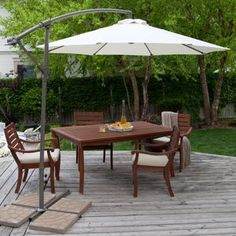 Resin Patio Table with Umbrella Hole . Resin Patio Table with Umbrella Hole . White Resin Patio Table with Umbrella Hole Patio Ideas Patio Table Umbrella, Best Patio Umbrella, Cantilever Patio Umbrella, Large Patio Umbrellas, Pool Umbrellas, Cozy Patio, Backyard Patio, Backyard Landscaping, Landscaping Ideas