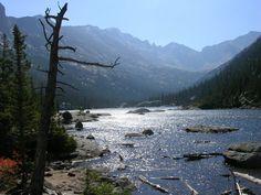 Rocky Mountain National Park near Estes Park Colorado