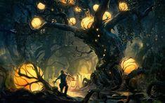 Light Globe Forest