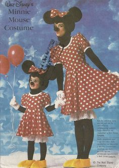Vintage Minnie Mouse Costume Pattern