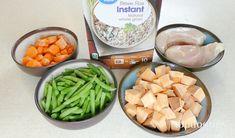 Home Cooked Dog Food, Make Dog Food, Homemade Dog Food, Dog Food Recipes, Chicken Recipes, Cooking Recipes, Cooker Dog, Dog Vegetables, Raw Sweet Potato