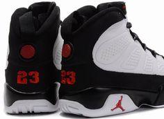 new product 0b54a f5629 Air Jordan 9 Retro White Black Red