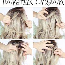 half up half down wedding hairstyles | Deer Pearl Flowers