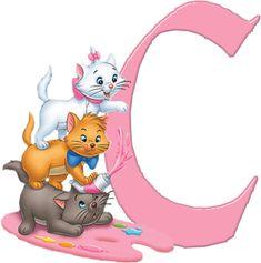C Aristocats Alphabet (Oh My Alfabetos!)