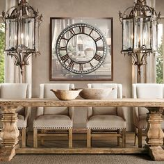 Salvaged Wood Trestle Extension Dining Tables Restoration Hardware Is Amazing With Natural Furniture