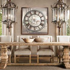 Vicky's Home: Comedores rústicos / Rustic dining room
