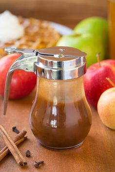 Apple Cider Syrup for your favorite fall waffles and pancakes!!!