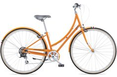 Public C7 lightweight, 7-speed bike for stop-and-go city riding. I like it in orange, as shown here, and also in white $550