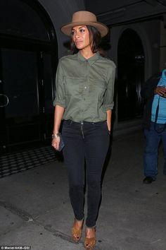 Nicole Scherzinger wearing Lanvin Suede Platform Sandals