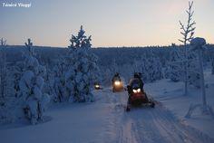 Finlandia In motoslitta