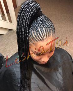 This style never gets old ♀️ #nickiponytail #healthyhair #leshiatai #harrisburgbraider #hairstyles #lovewhatido #stylefactor #healthyhair