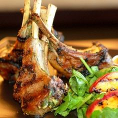 Grilled Pork Chops with Cucumber-Dill Salad | recipes | Pinterest ...