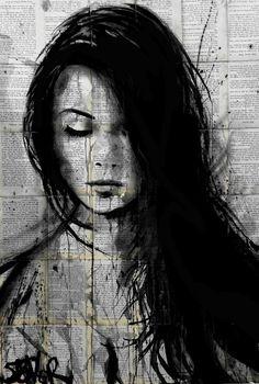 "DesertRose///Artist Loui Jover; Drawing, ""seek"" #art"