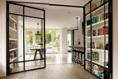 whowww : this is cool, these doors do have a dual function, very vèry smart .... very!