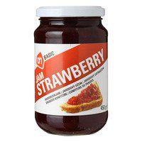 Extra jam aardbeien